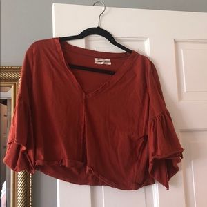 Urban outfitters burnt orange top